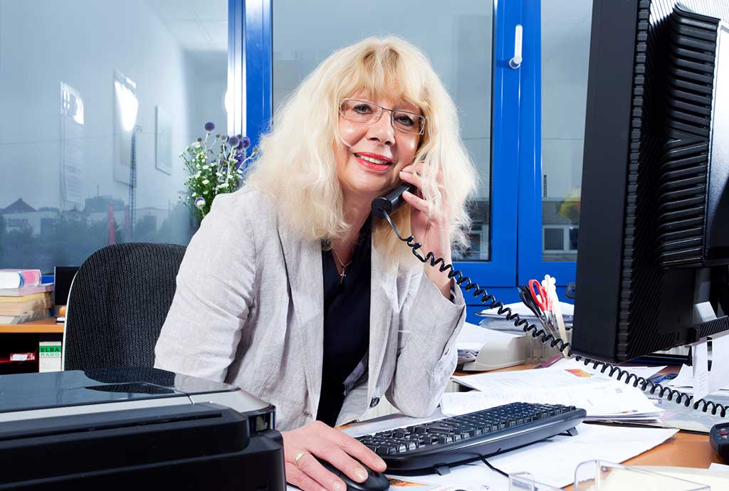 Portrait Frau Weimann, Büroleitung Hausverwaltung Dortmund